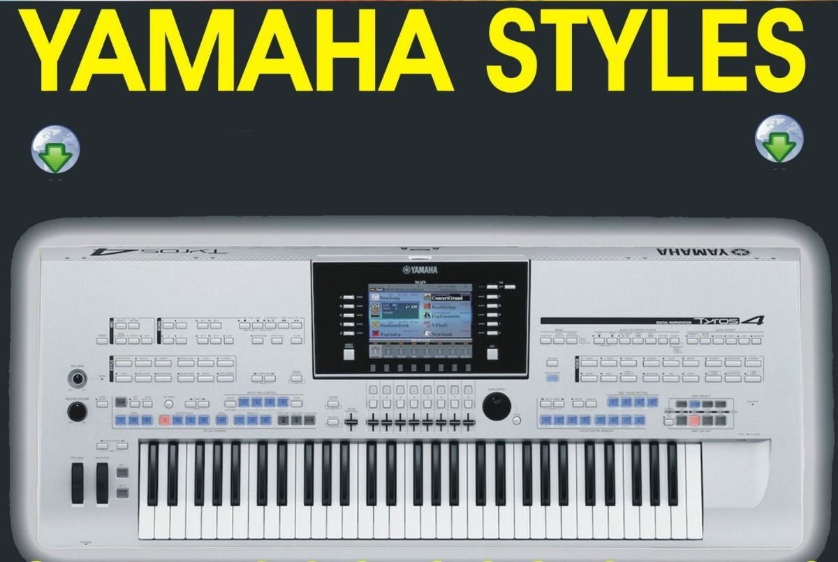 3000 New Styles für Yamaha PSR-S700 /& PSR-S710 Download oder USB-Stick